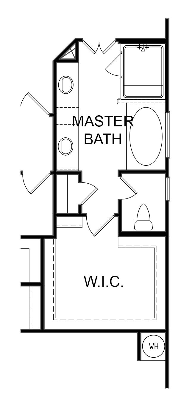 Braylon Alternate Master Bath Layout