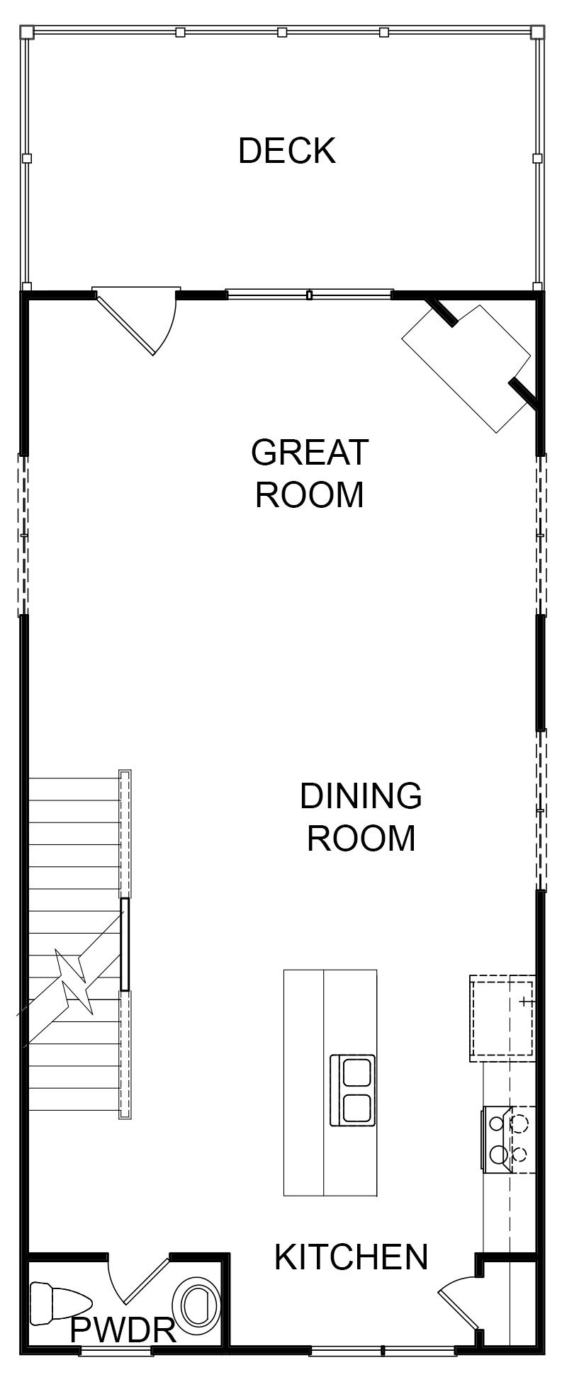Eaves Second Floor