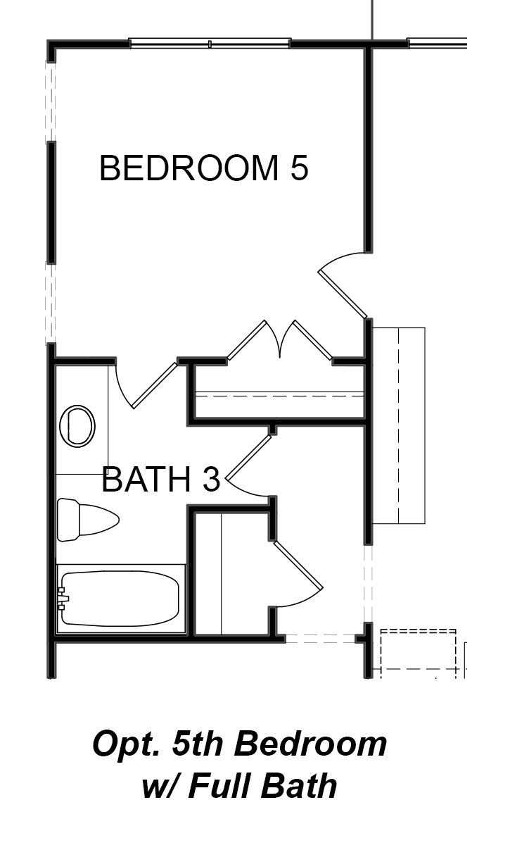 Madison 5th Bedroom Option