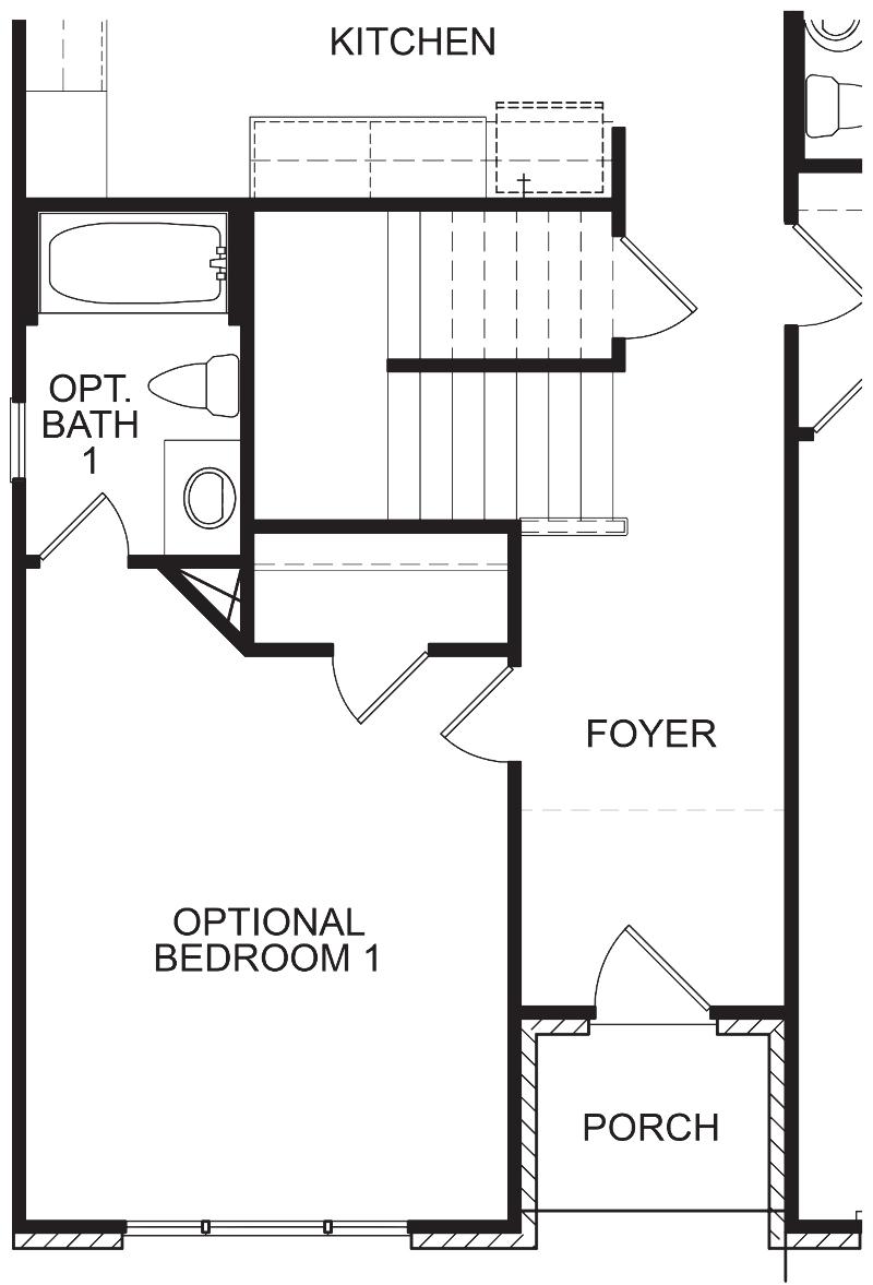 Alexandria AA Optional Bedroom 1