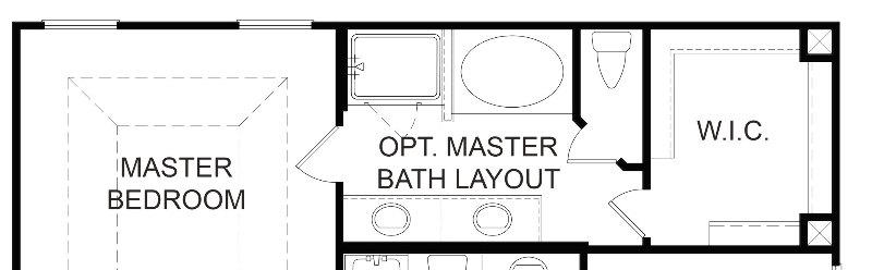 Baring Alt. Master Bath Layout