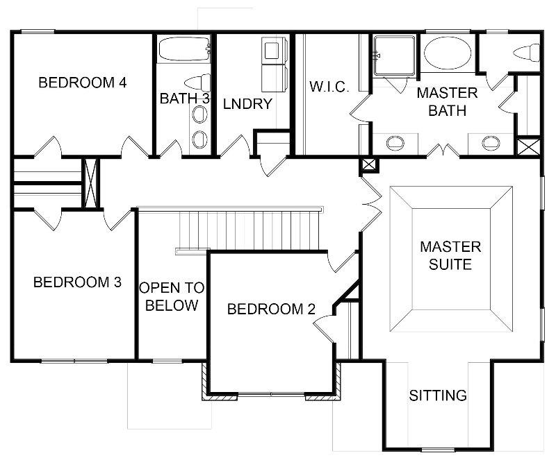 Glenwood  Second Floor