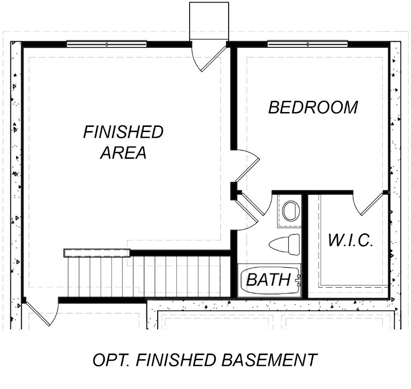 Hanson Optional Finished Basement