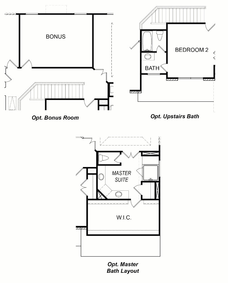 Innsbruck Second Floor Options