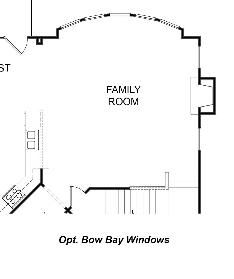 Madison Bow Bay Window Option