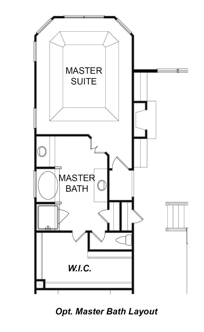 Woodridge First Floor Options