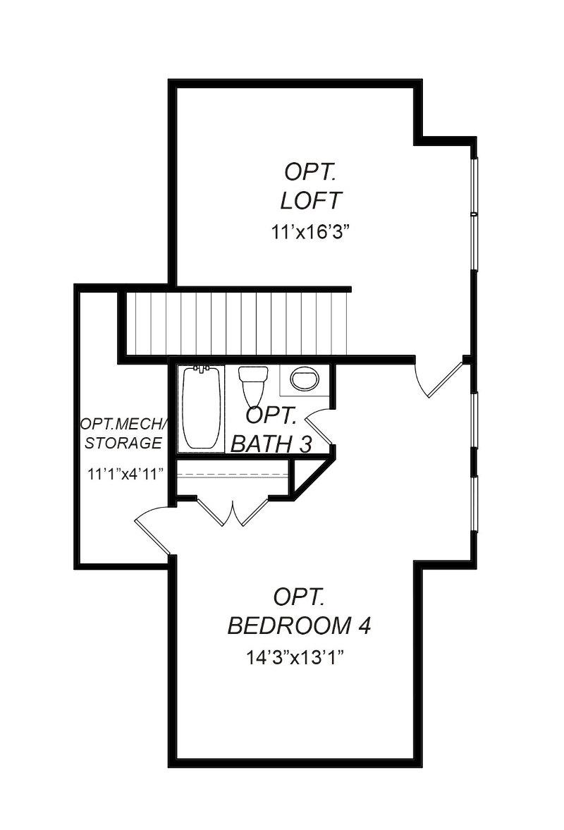 Sequoyah Second Floor