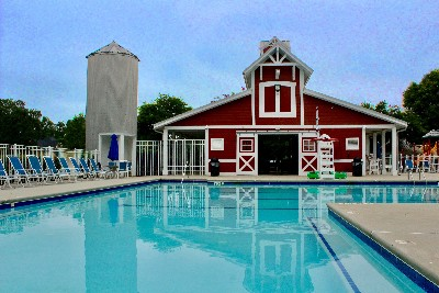 Barn and Pool